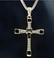 MYLOVE Fast & Furious Cross Necklace Dominic Toretto necklace