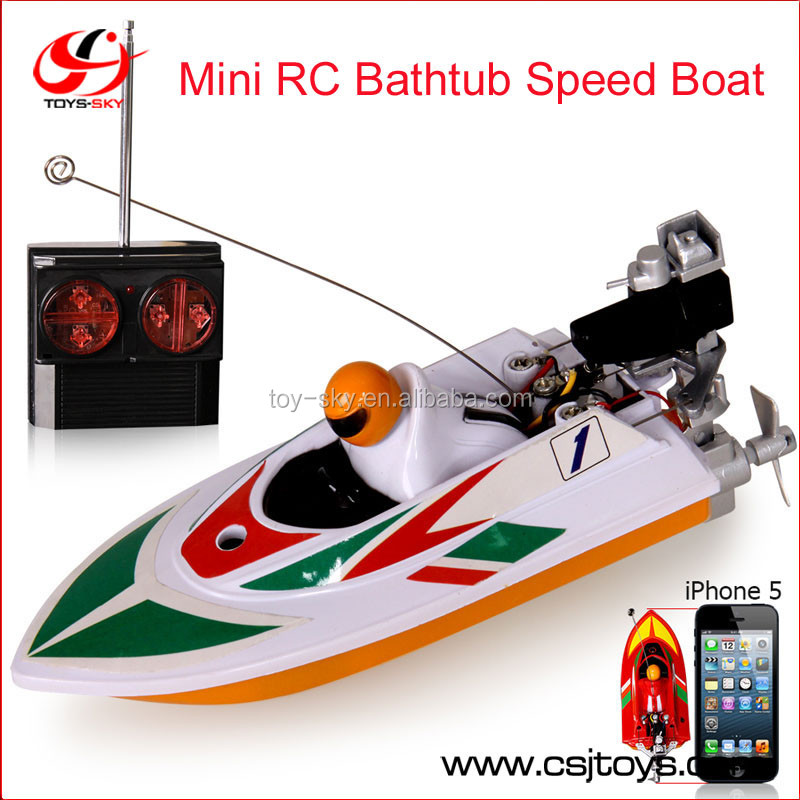 Hot sale Huanqi Educational Mini Remote Control Bathtub Speed Boat RC Yacht RC Toy Speed Boat for Children Kids Gift - NO.953