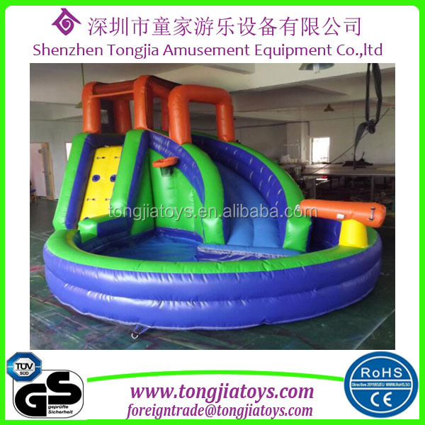 small inflatable slide for kids popular plaza amusement park inflatable water slide garden