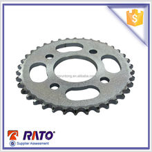 Chongqing Motorcycle parts 428 38teeth motorcycle sprocket for sale.