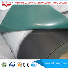 flat roofing material PVC waterproof membrane with UV resistance