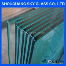 10mm Thick Heat Soaked Tempered Glass Weight