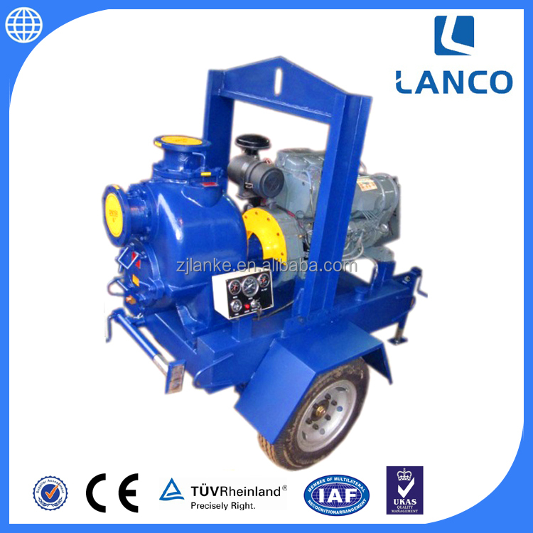 P Series Electric Non-Clogging Sewage Water Pump