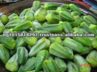 IQF okra with high quality