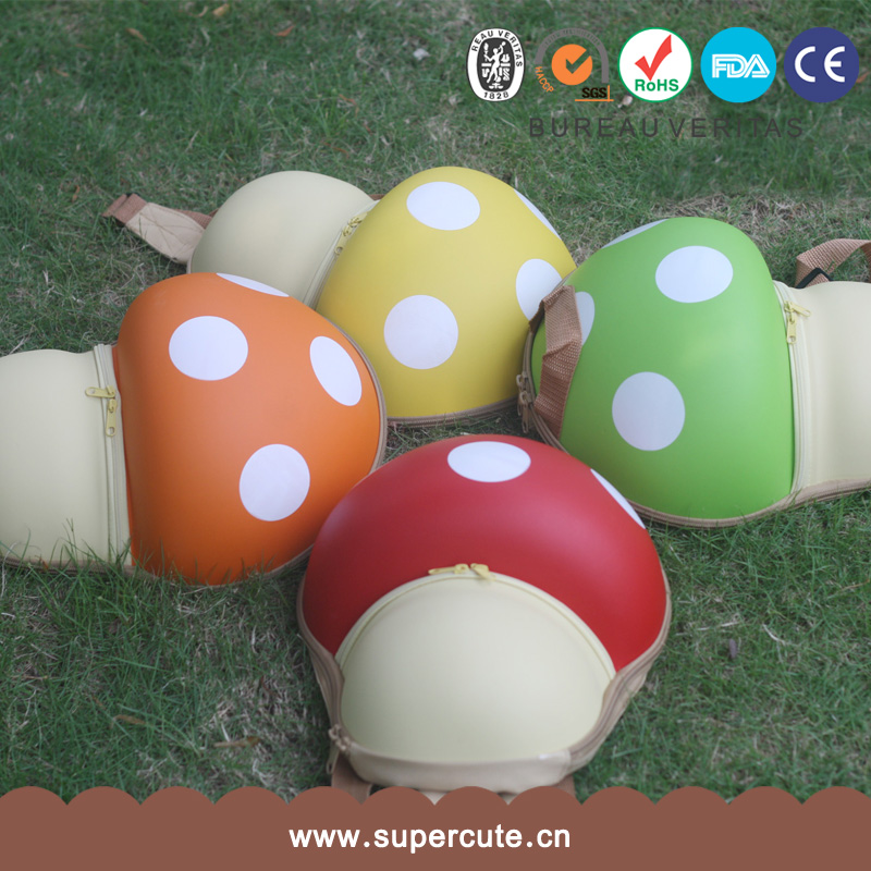 Super Mario Bros EVA Mushroom backpack school bag