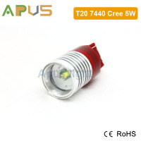 White Red Yellow Stop Light Cr.ee 7440 led bulb 5W