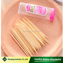 ZHUPING best selling bamboo toothpick for dubai market cheapest wooden toothpic