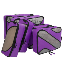 Hot sale clothers tidy organizer pouch suitcase 6 pcs travel bag luggage cube