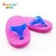 shoe shaped slipper Rubber erasers for kids toy