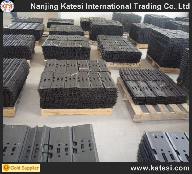 2017 china supplier cat bulldozer undercarriage parts single grouser track shoe