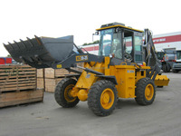 TLB construction equipment backho china loader with the 1m3 backhoe bucket