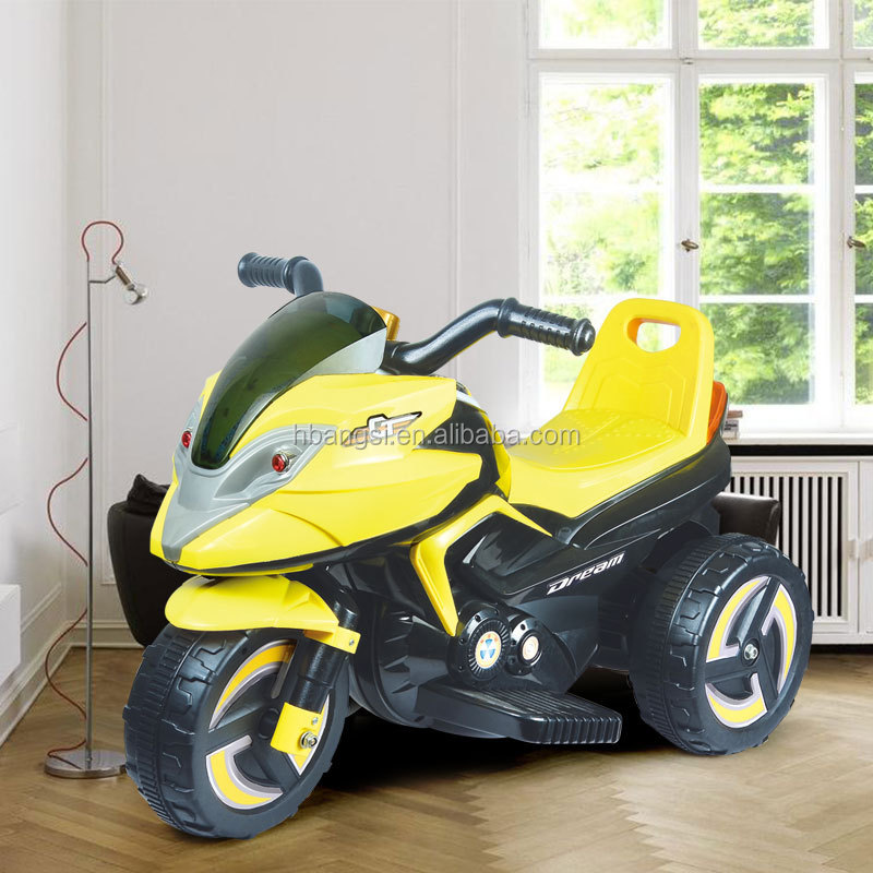Kids plastic 6volt electric motorbikes children motor car toy