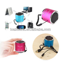 Portable Mini Speaker support TF Card USB flash drive MP3 with FM radio speaker