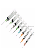 Disposable Syringes With Needle Medical Injection Use