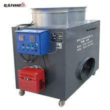 Diesel oil heater for greenhouse