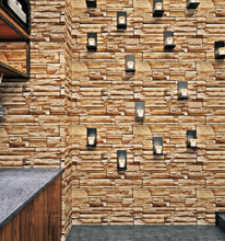 Cheap 3D Kitchen washable vinyl brick wallpaper