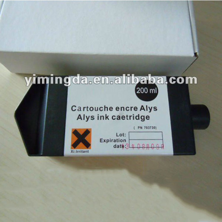 200ml Lectra alys ink cartridge 703730 for lectra Alys plotter