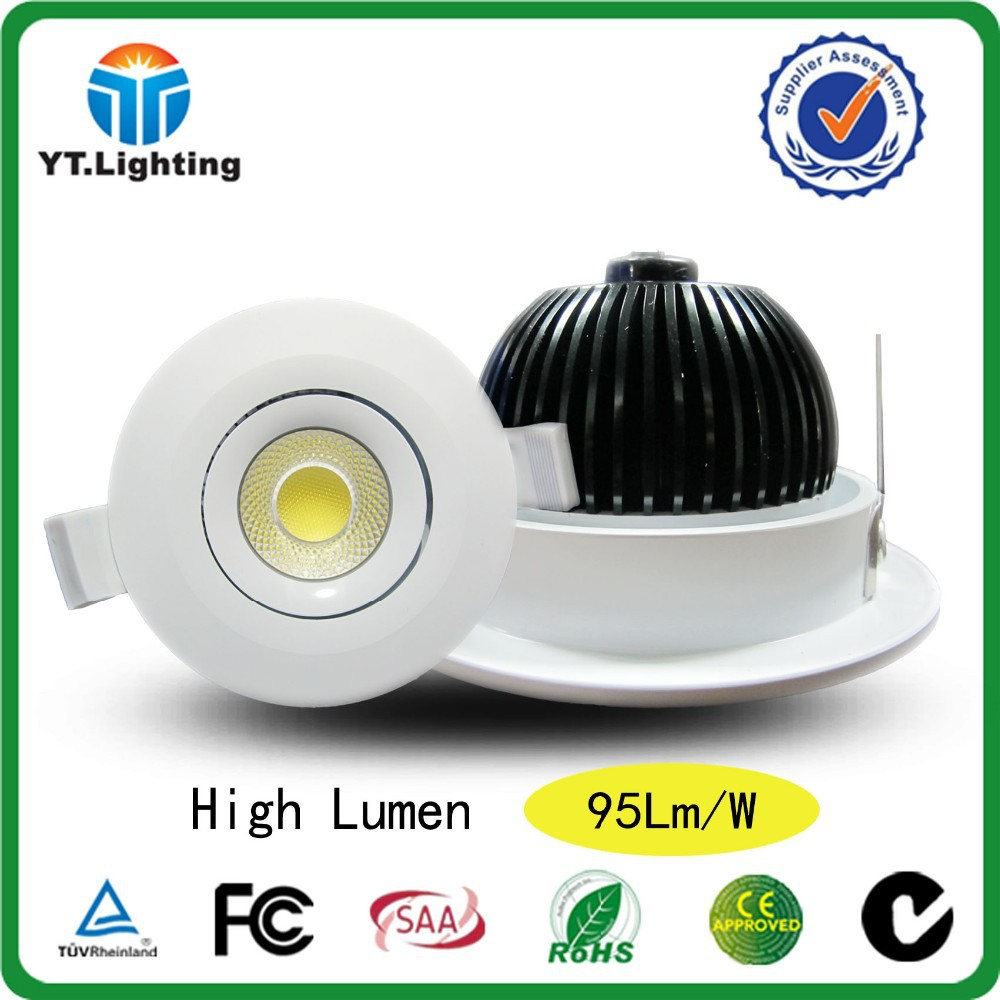 High Power 10W led downlight with 90mm cut out Australian standard downlight 10W led with 90mm cut out