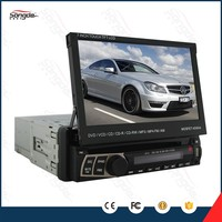 1 Din Flip Down 7inch Car DVD Player With GPS