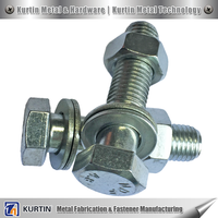 Large Hex Head Hex Bolt Hardware