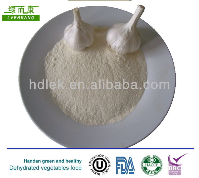 Handan green and healthy Garlic powder garlic flour 100-120mesh