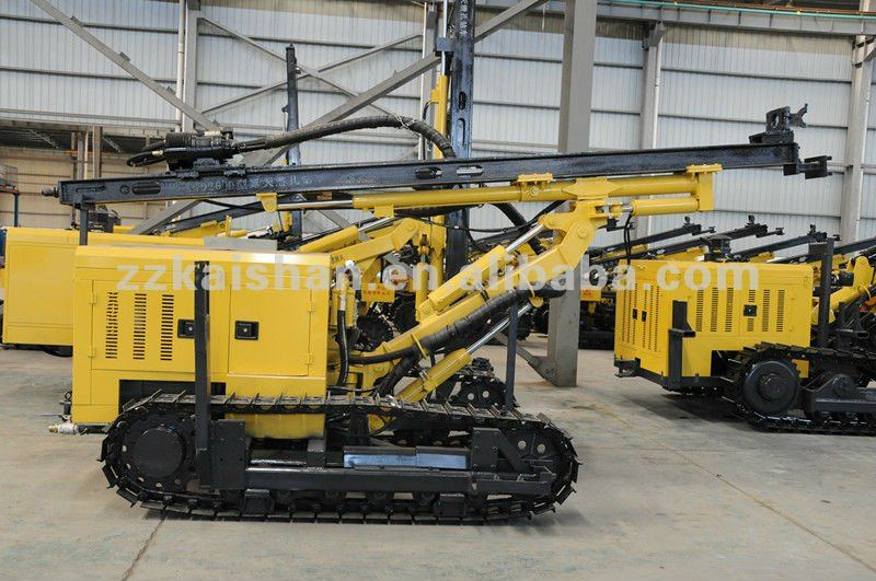 Powerful Rock Breaker Mobile Drilling Machine KG920B (upgrade)