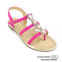 wholesale thong rhinestone summer fashion 2013 woman slipper lady sandal