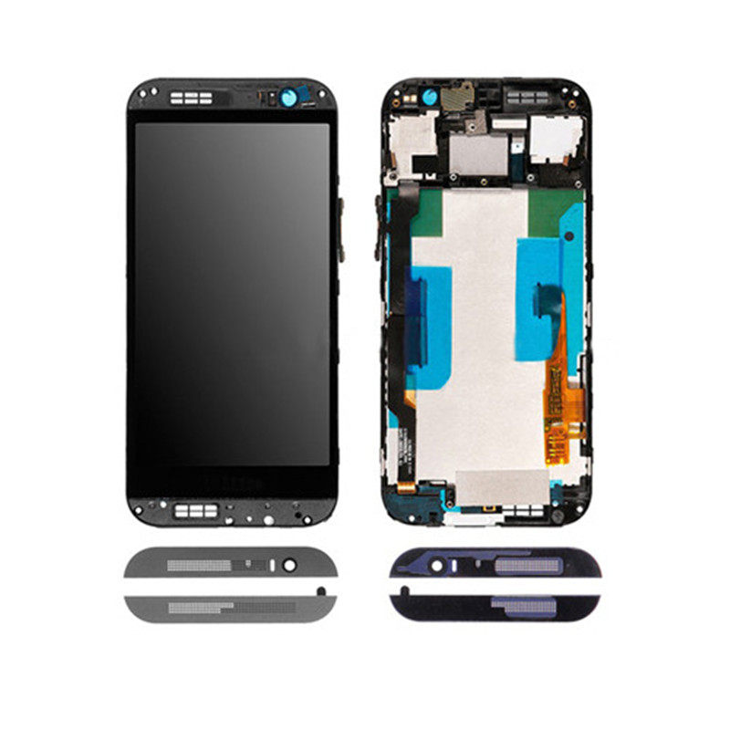 Hot sale Phone digitizer for HTC ONE M8 LCD Screen Display Replacement