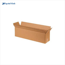 China fashionable high-end good brown paper box,brown kraft paper box