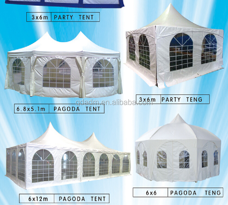 PE outdoor party tent on hot sale