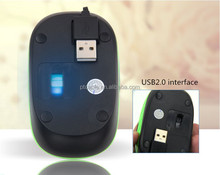 Hot Sale Cheap Free Drivers 3D USB Optical Gaming Mouse OEM/ODM/Customization Supported
