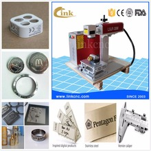 Good character Stainless Steel Jewlery Tags fiber laser engraver marking machine/fiber laser marking machine price