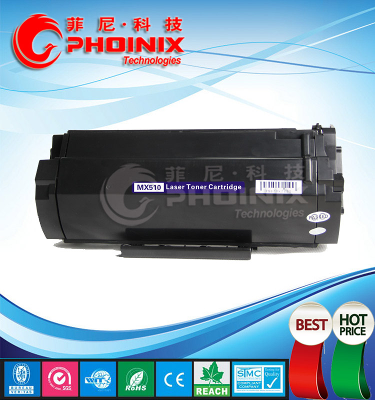MX510 Printer Cartridge Compatible for Lexmark 60F5H00, MX310, MX410, MX510