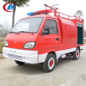CHINA 4*2 small 4 wheels 3 ton water tank fire rescue truck