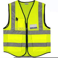 Security Protection High Visibility Yellow Reflective