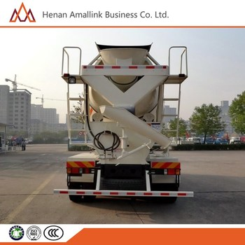 6x4 foton 260hp,6m3 Factory price cheap concrete mixer truck for sale