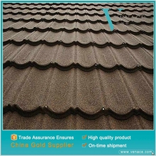 Roof for poultry house steel roofing shingles