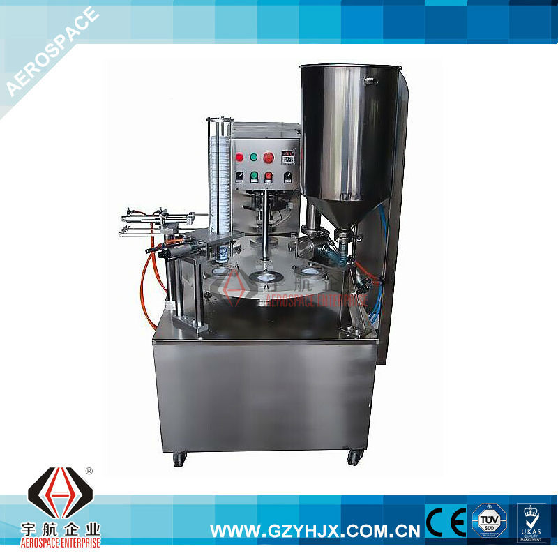 Automatic Grade and Filling Machine Type plastic and paper cup filling sealing machine