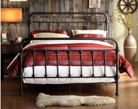 modern europe style metal wall bed fashionable king size furniture hot sale general use