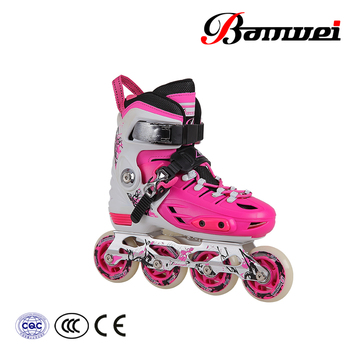 Best sale of products in alibaba inline racing skates BW-135 inline skates
