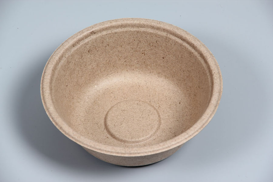 Wheat&bagasse biodegradable disposable bowl and cups