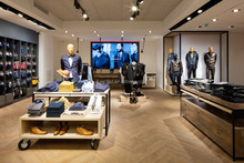 High End Men Wear Clothing Display Fixtures