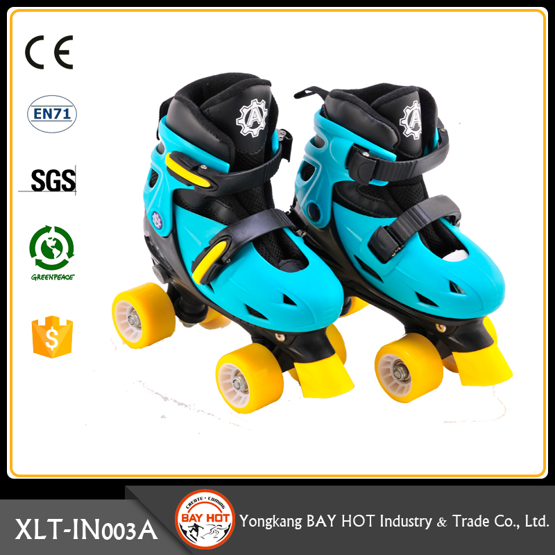 Cheap Sturdy roller skate quad boots