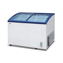 Supermarket Display Commercial Freezer Glass Door for Ice Cream