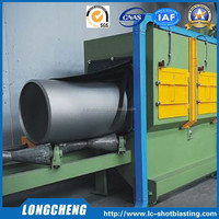 Direct China Factory Design Rust Removing Shot Blast Machine for Pipes and Bars