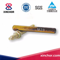 high performance chemical anchoring double component injectable epoxy adhesive