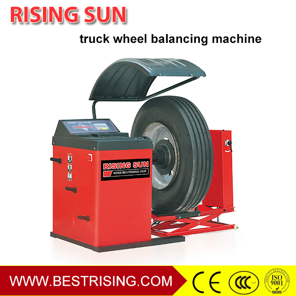 Truck repair used manual wheel balancer for sale
