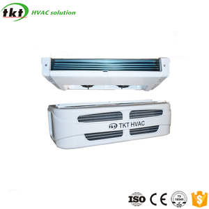 Transport refrigeration system cooling unit for cargo truck body