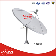 C-BAND Parabolic 1.8M Satellite Dish TV Antenna