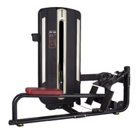 Lat pulldown strength training machine fitness gym equipment